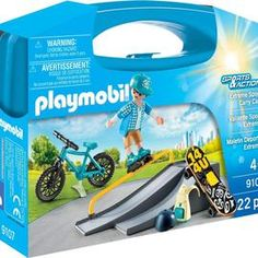 playmobil – ToyRoo - Magical World of Toys! Playmobil Sets, Your Location, Sports Activities, Extreme Sports, Mountain Biking, Carry On, Adventure, World, Toys