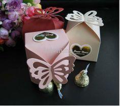 Wholesale Wedding Candy - Buy Butterfly Pattern Favor Box, Gift Box, Candy Boxes Wedding Party Baby Shower - $0.29 | DHgate