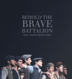 The reason I have no social life is because of Newsies…