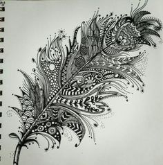 Art, peacock feather tattoo, peacock feathers, zentangle drawings, doodle d Feather Drawing, Feather Art, Feather Tattoos, Body Art Tattoos, Sleeve Tattoos, Mandala Feather, Peacock Feathers, Zentangle Drawings, Zentangle Patterns