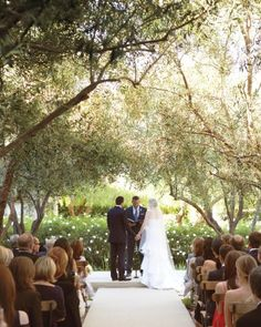 "See the ""The Vows"" in our A Formal Wedding at Home in California gallery"