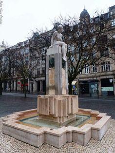 Porto - Estátua, Av dos Aliados