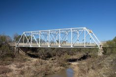 Hubbard Creek Bridge in Shackelford County, Texas.