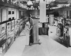 Massive ENIAC Vintage Computer 1940s 8x10 Reprint Of Old Photo