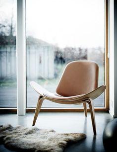 White minimal scandinavian interior