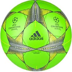 adidas Finale 15 Capitano Green Black Soccer ball - model S90225 Soccer  Gear 7247da28cd81f