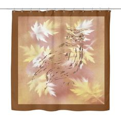 #6 Great Horned Owl Shower Curtain