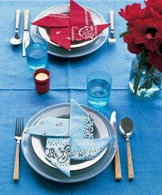 Servietten falten – Kreieren Sie eine einmalige festliche Tischdeko! -