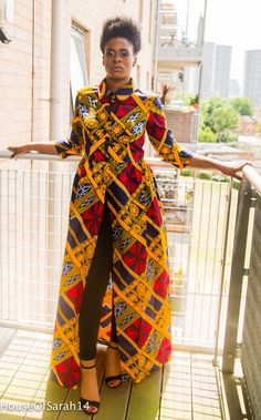 This Bambino African Print Top/Dress is very fashionable and takes your style to the next level. Length of the top/dress is from the waist down. African Maxi Dresses, Ankara Dress, African Attire, African Wear, African Inspired Fashion, African Print Fashion, Skirt Fashion, Boho Fashion, Nigerian Outfits