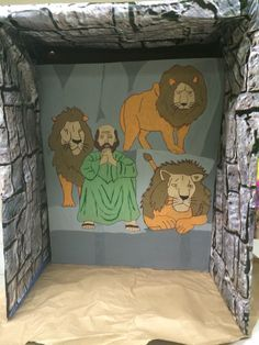 Daniel in the lions den Journey off the map VBS