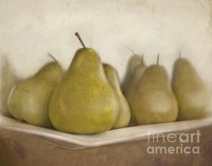 """Winter pears"" by Cindy Garber Iverson"