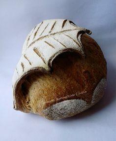 😍😍😍 Wow at this bread Sourdough Recipes, Sourdough Bread, Bread Recipes, Bread Art, Pan Bread, Festive Bread, Pain Au Levain, Bread Shaping, Braided Bread