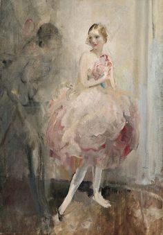I hope you all have a great Thanksgiving day tomorrow!  Everyone will be busy, so let's do something easy.  How about BALLET ART?