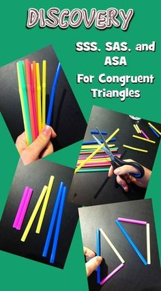 Blog post on teaching congruent triangles in an inquiry-based style