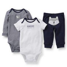 3-Piece Bodysuit & Pant Set