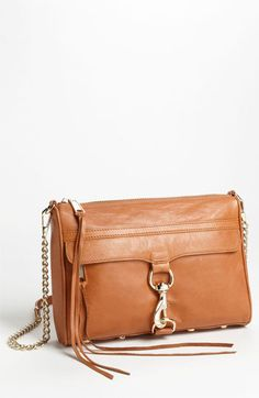 Rebecca Minkoff 'M.A.C.' Shoulder Bag available at #Nordstrom - Almond brown color $295.00 love love love love this bag. looks like it'd be the perfect size