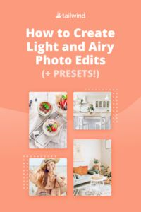 Love the look of light and bright photo aesthetics, but don't know how to get them yourself? Here's a step by step guide to light and airy photo edits! Photography Cheat Sheets, Travel Photography, Photography Tips, Marketing Communications, Social Media Marketing, Instagram Schedule, Pinterest Images, Photo Lighting, Photo Tips