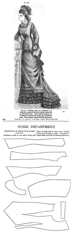 Godey's Lady's Book and Magazine 1878