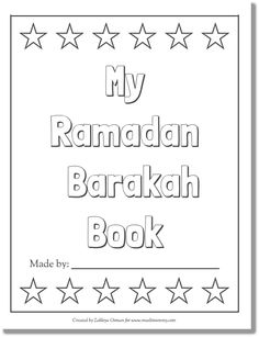 My Ramadan Barakah Book free download only muslimommy.com