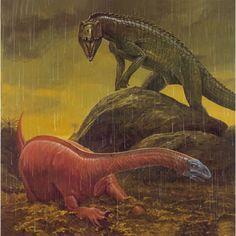 Riojasaurus por Wayne Barlowe. Wayne Barlowe freaking rocks!