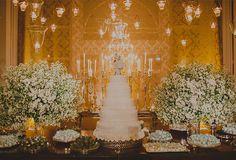 Fernando Reame elaborou uma decoração de casamento aconchegante com toque…