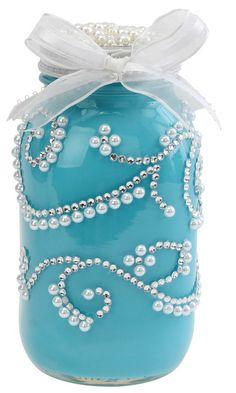 Nicole™ Crafts Wedding Jar #craft #masonjar