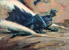 Batman by Kent Williams