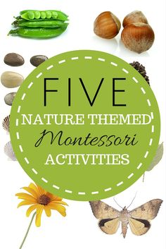Check out these fun Montessori Math Activities with Printables! Perfect for your indoor and outdoor classroom!