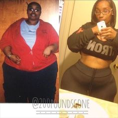 """WOW! Chekout this mean transformation by @200poundsgone She says: """"Who said it can't be done?! It is being done.  The journey is hard but being unhealthy is much harder.  I am proof there is life after being obese if you are willing to fight for it. Question is do you want it as bad as you need it?"""" Get my TOP-3 Ab workouts FREE! Just click the link in my bio #fatburningninjas #loveyourself #diet #health #fitness #fit #fitnessaddict #fitspo #workout #cardio #gym #train #training #health…"""