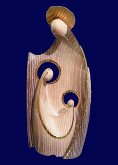 Pin on Nativities Christmas Nativity Scene, Christmas Wood, Nativity Scenes, Merry Christmas, Sculptures Céramiques, Wood Sculpture, Ceramic Christmas Decorations, Anatomy Sculpture, Pottery Handbuilding