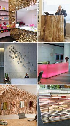 Cash desks/sales counters/reception desks design potential from Plenty of Colour