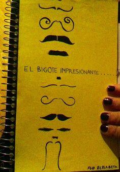 Creative Project: Book On Salvador Dali - El Bigóte Impresionánte - Front