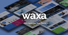 Waxa - Fitness, Gym & Sports WordPress Theme by GloriaThemes Waxa WordPress Theme ¨C Overview Page Builder: Visual Composer ¨C Visual Composer is an easy to use drag and drop page builder that