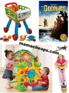 MamaCheaps.com: Schedule for Today's TOY Lightning Deals on Amazon (11/7) – The Goonies, Gogo Pogo, VTech, Ohio Art