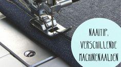 Essentieel voor mooi naaiwerk zijn uiteraard de juiste naaimachine-naalden. We…