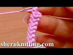 How to crochet a 3D Romanian Point Lace Cord ~Tutorial