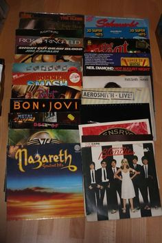 Vinyl Sammlung + Rock/Pop + Accept + Van Halen + Nazareth + Aerosmith + Blondie