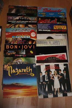 Vinyl Sammlung + Rock/Pop + Accept + Van Halen + Nazareth + Aerosmith + Blondie