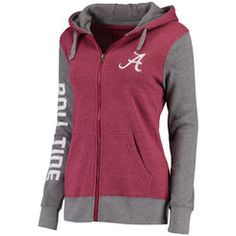 Women's Crimson Alabama Crimson Tide Team Essentials Unity Clean Color Tri-Blend…