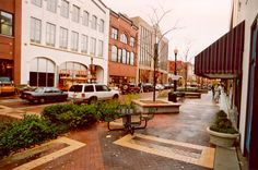 The downtown Kalamazoo walking mall.   Shopping you don't find anywhere else. Terrific restaurants you don't find anywhere else.