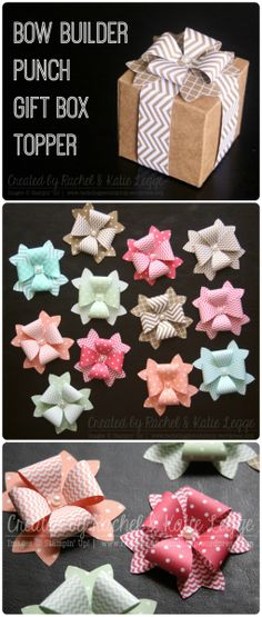 Bow Builder Punch Gift Box Toppers