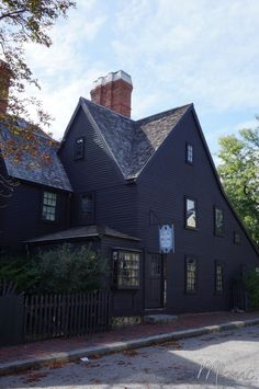 The House of the Seven Gables, Salem, USA