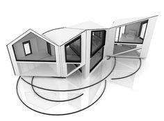 Los avances tecnológicos y la constante búsqueda de la innovación arquitectónica nos llevan a niveles donde es posible diseñar casas de formas cambiantes...
