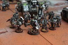 Iron hands legion command squad.