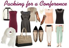 Wondering what to pack for a work conference? Nicole Longstreath of The Wardrobe Code fills you in on some conference essentials. Business Attire, Business Women, Business Travel, Business Fashion, Business Casual, Work Fashion, Fashion Outfits, Office Fashion, Fashion Clothes