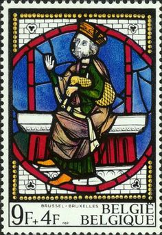 BELGIUM: If anyone can identify the location, date or other information of this beautiful stained-glass window we'd like to hear about it. The bagpipe is a bit sketchy - it's hard to see if there's even a drone. Its general shape is similar to many seen in European painting and sculpture from the late middle ages.