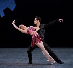 Robbie Fairchild and Tyler Peck in 'Who cares?', NYCB
