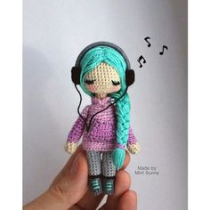 Tiffany, tiny size doll 10 cm