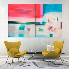Resumen pintura arte abstracto arte de la pared la pintura
