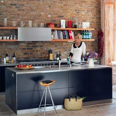kitchen |via Living etc mag|
